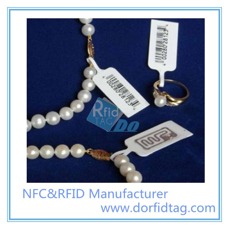 ISO 15693 High Frequency RFID Jewelry Tags For Jewelry Management